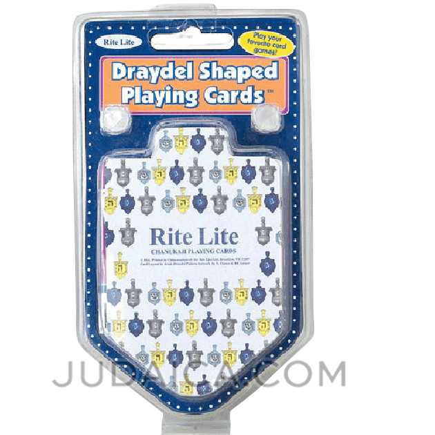 Dreidel Shaped Playing Cards