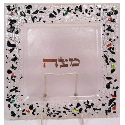 Black Rock Matzah Plate