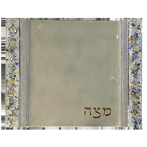 Mosaic Matzah Plate