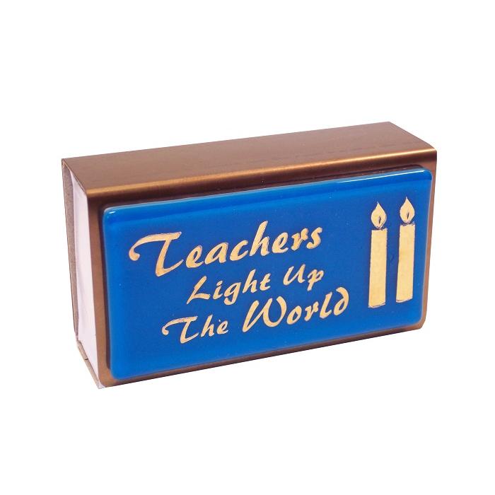 Teachers Light Up the World Large Matchbox Cover