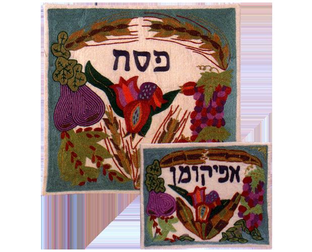 Lush Seven Species Matzah Cover