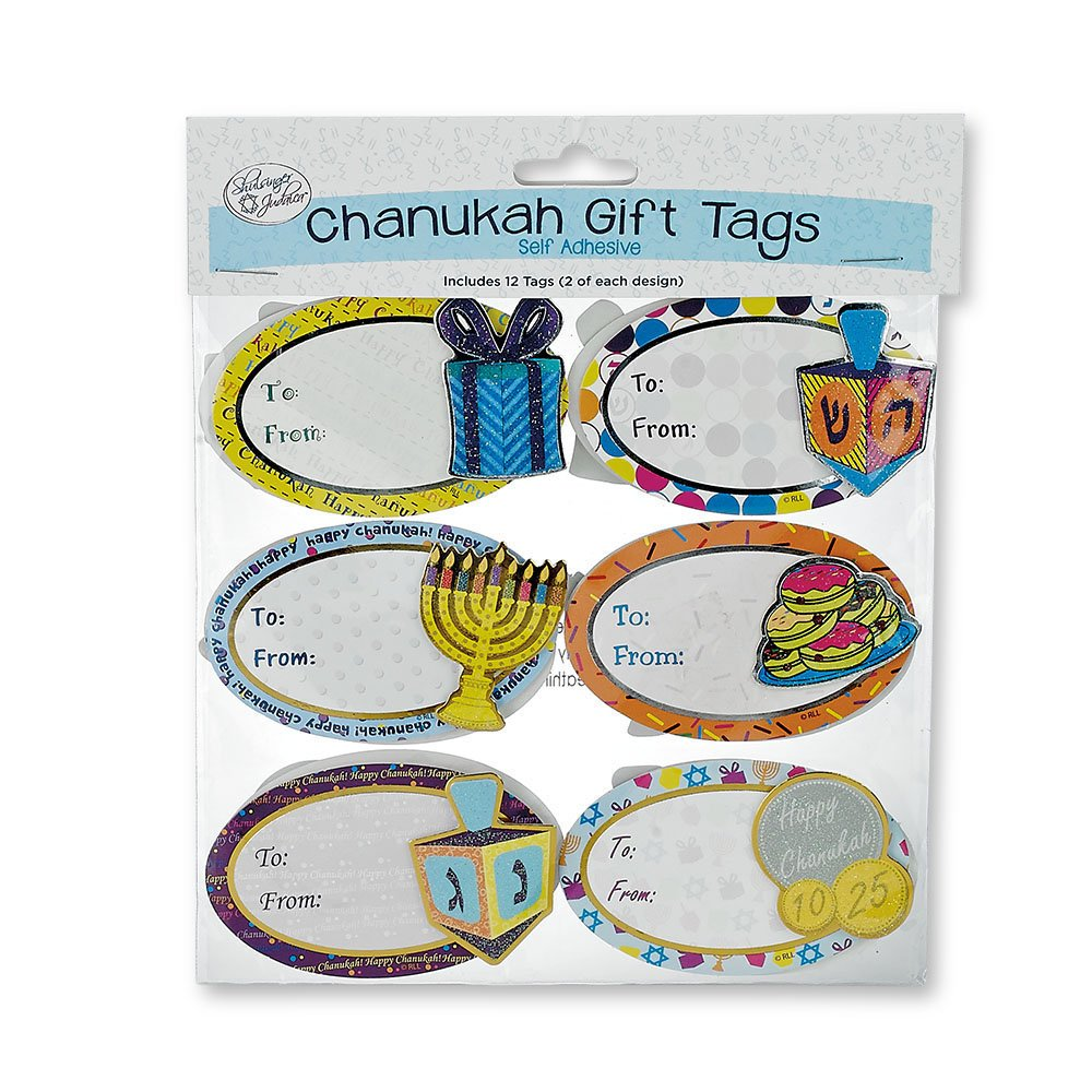 3D Chanukah Gift Tags