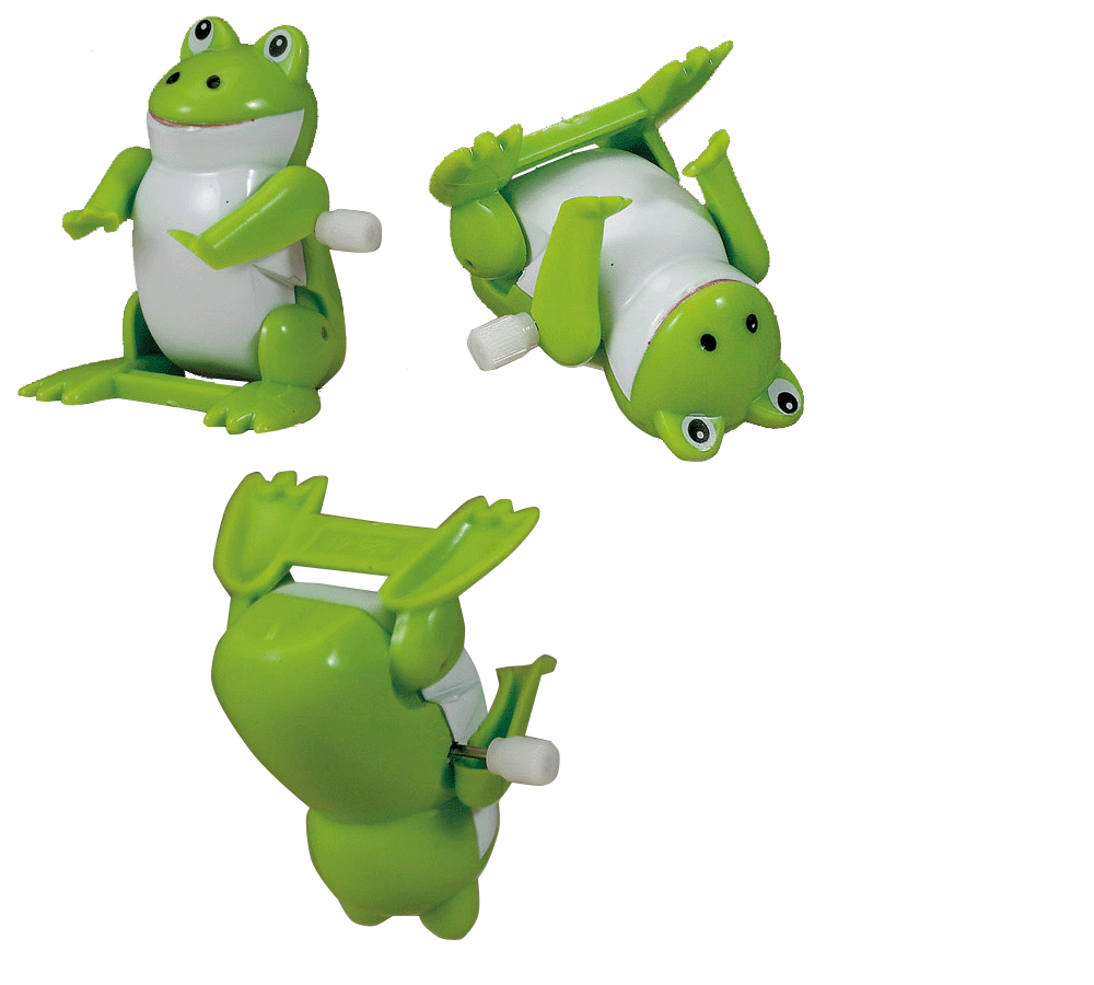 Backflip Frog