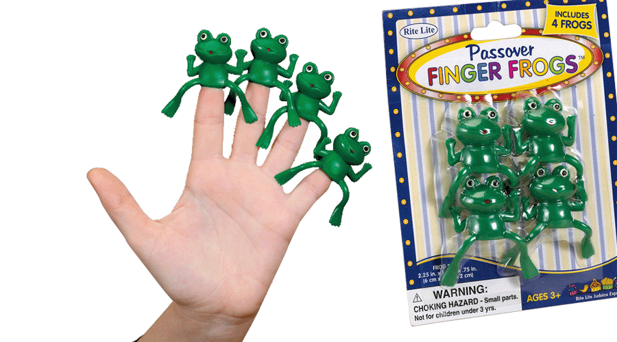 Passover Finger Frogs