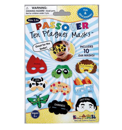 10 Plagues Masks Set