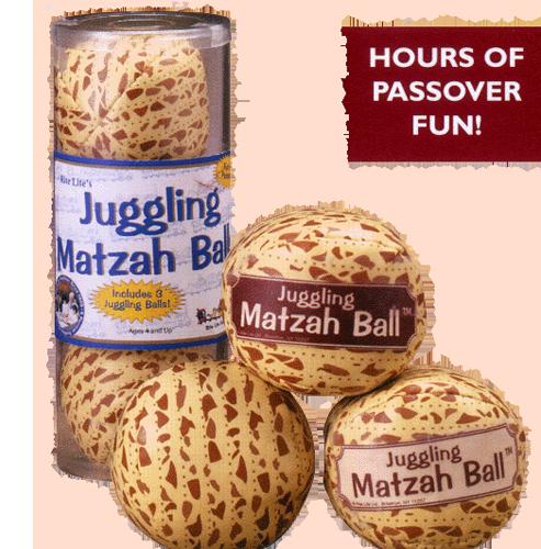 Juggling Matzah Balls - Set of 3