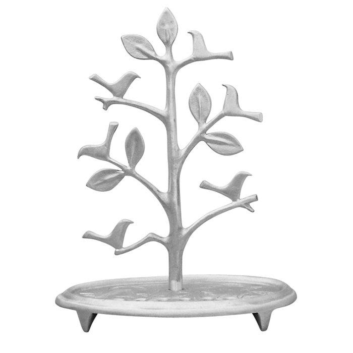Tree of Life Menorah with Doves