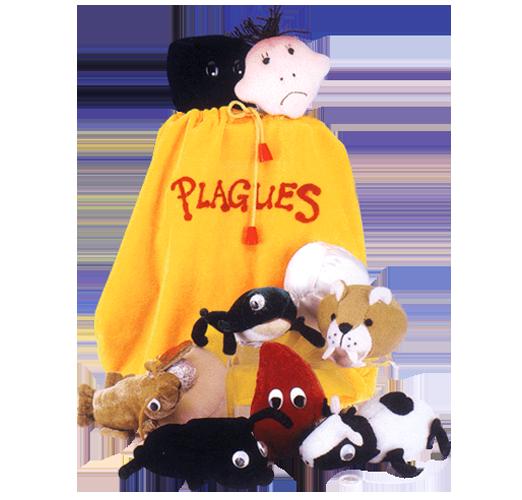 Plush 10 Plagues Bag