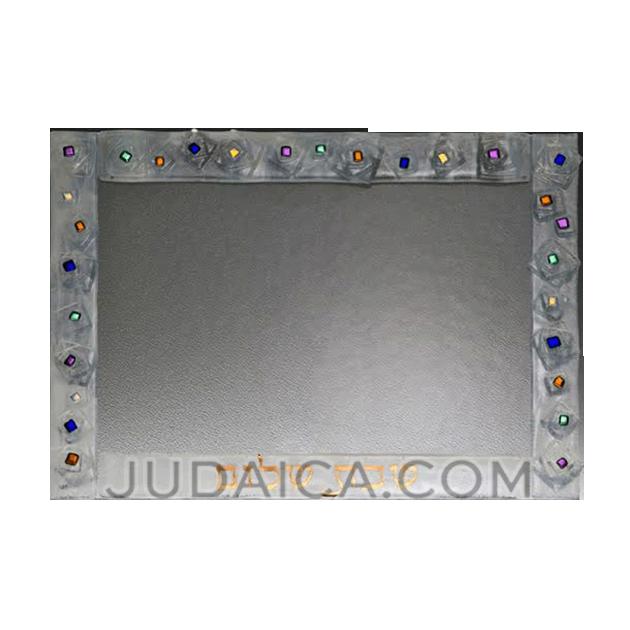 Geo Challah Board & Shabbat Platter