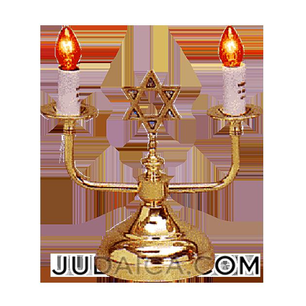 Electric Shabbat Candles