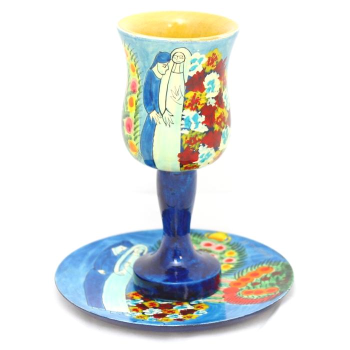 Jewish Wedding Kiddush Cup by Yair Emanuel