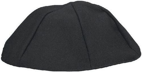 Black Terylene Kippah