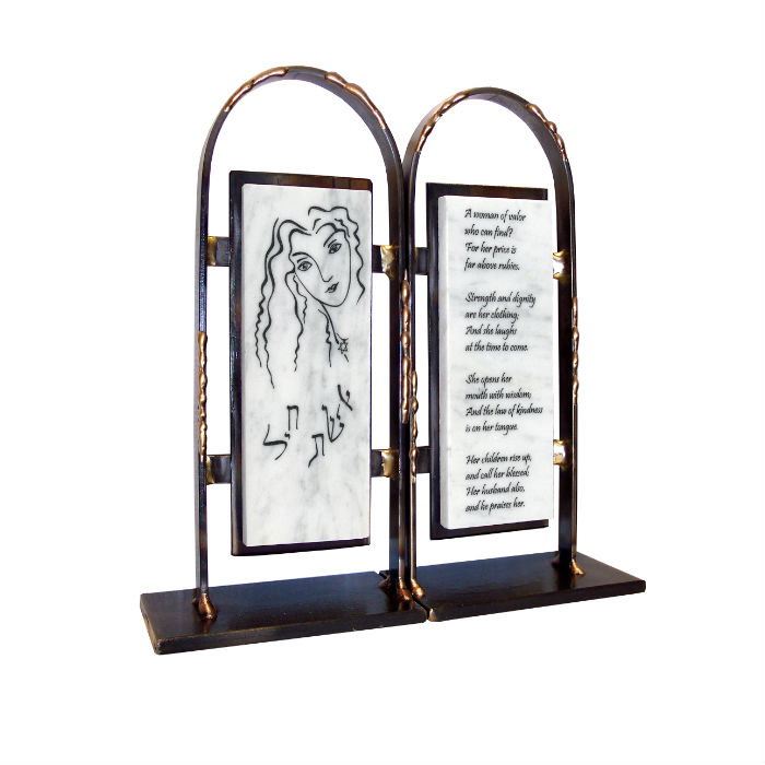 Woman of Valor Bookends