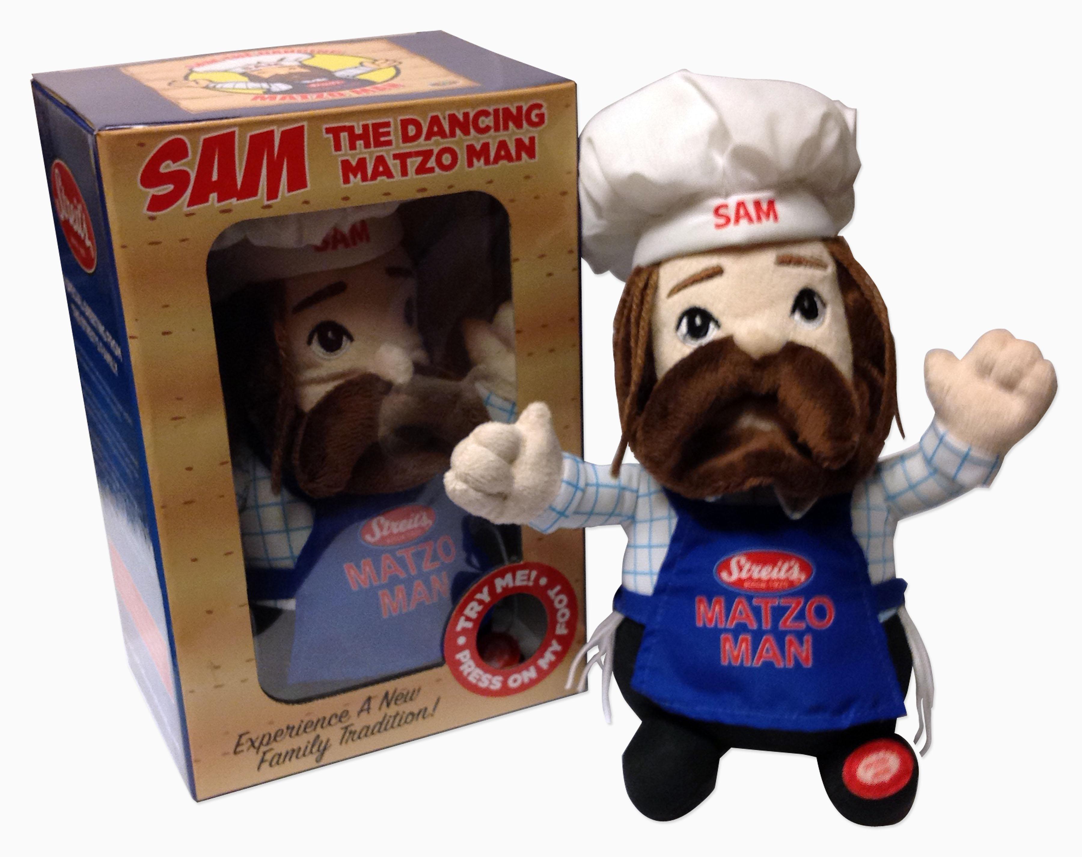Streit's Sam the Matzo Man