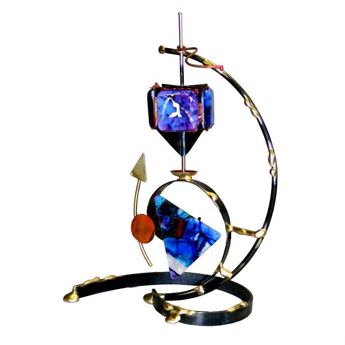 Art Glass Dreidel