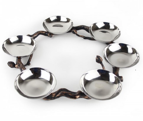 Silver-Plated Seder Plate