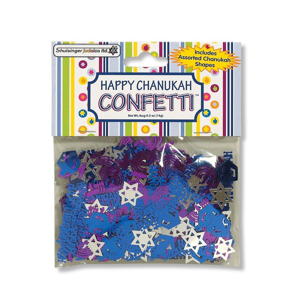 Happy Chanukah Confetti