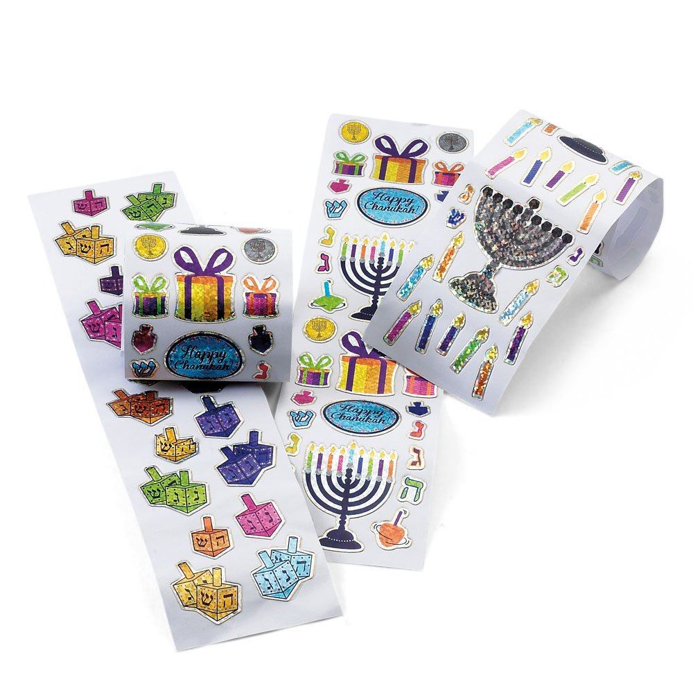 Happy Chanukah Stickers in a Box