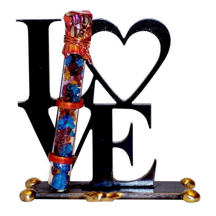 Love Wedding Breaking Glass Keepsake by Gary Rosenthal