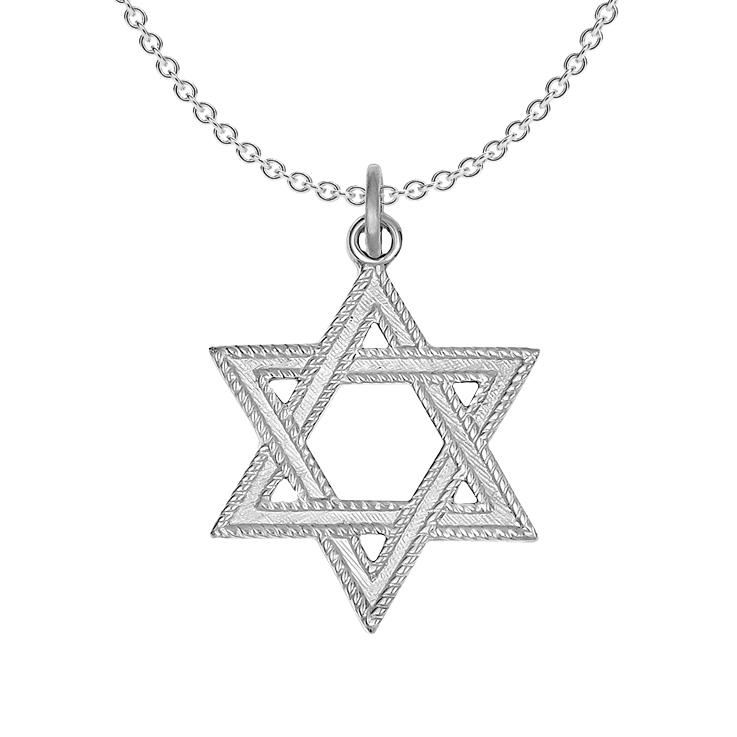24k gold plated sterling silver star of david pendant aloadofball Choice Image