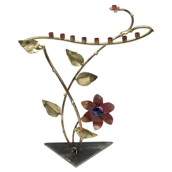 Growing Flower Menorah