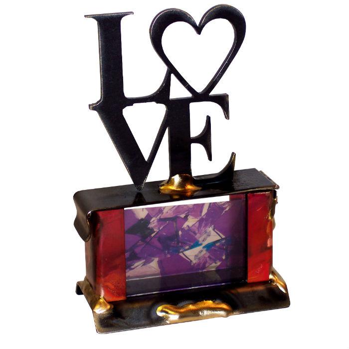 Love Wedding Breaking Glass Keepsake Box