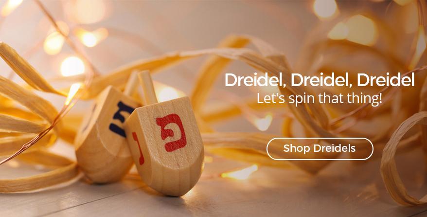 Shop all our beautiful dreidels at Judaica.com!