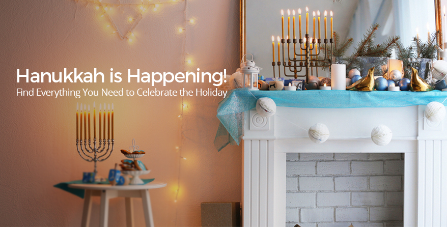 Find everything you need for Hanukkah at Judaica.com!