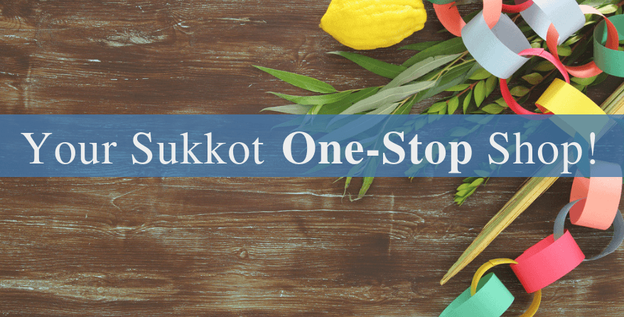 Find everything you need for Sukkot at Judaica.com!