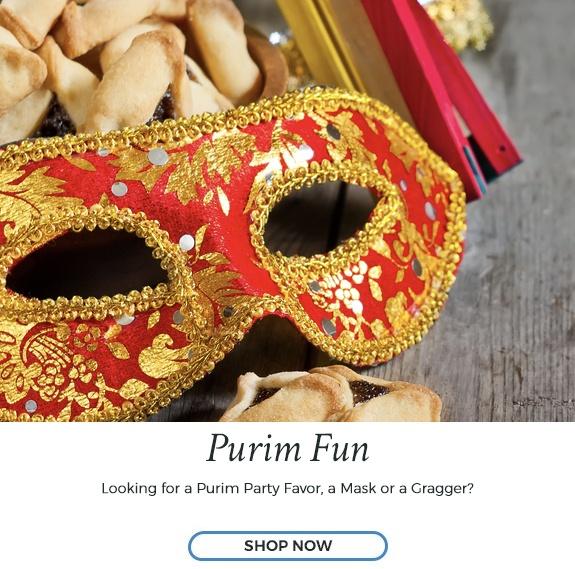 Shop Purim Now at Judaica.com