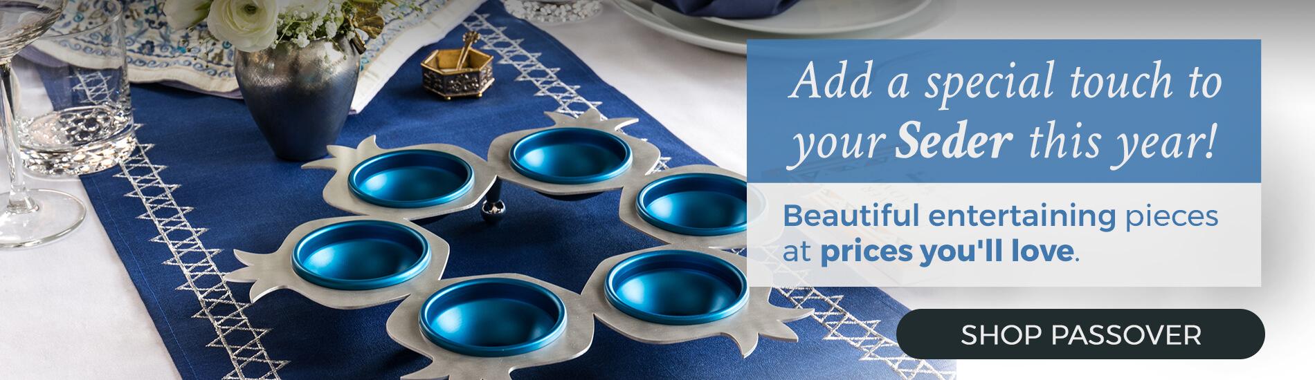 Shop Your Passover Seder Needs Judaica.com!
