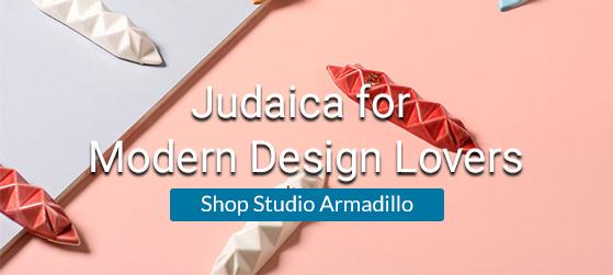 Shop Studio Armadillo at Judaica.com!