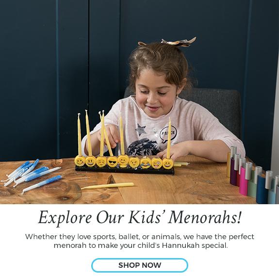 Shop Kids' Menorahs at Judaica.com