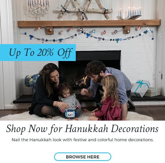 Up to 20% Off Hanukkah Decorations