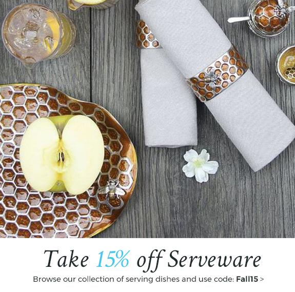 Take 15% off beautiful serveware