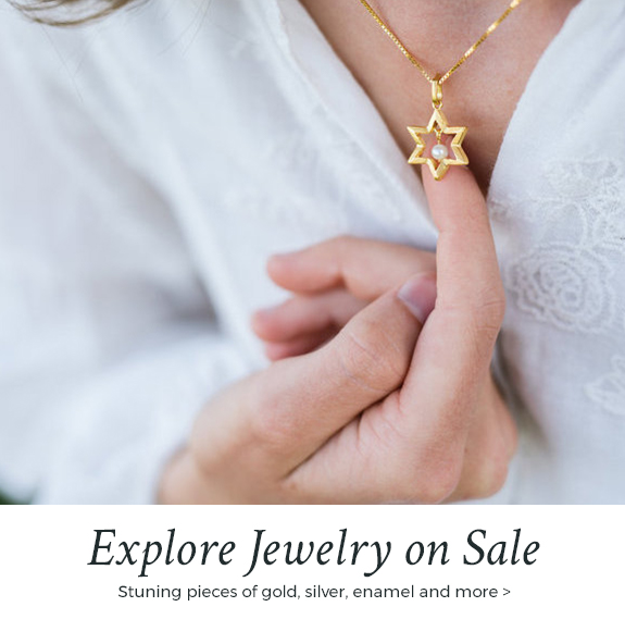 Jewish jewelry on sale