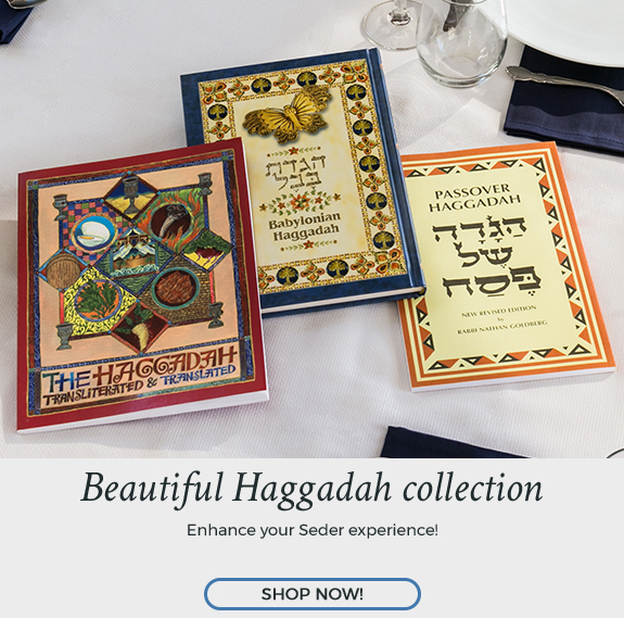 Shop Passover Haggadahs at Judaica.com